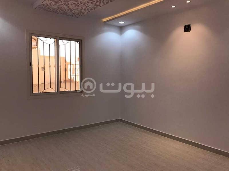 فيلا درج صالة شقتين للإيجار بالكامل، ظهرة لبن غرب الرياض