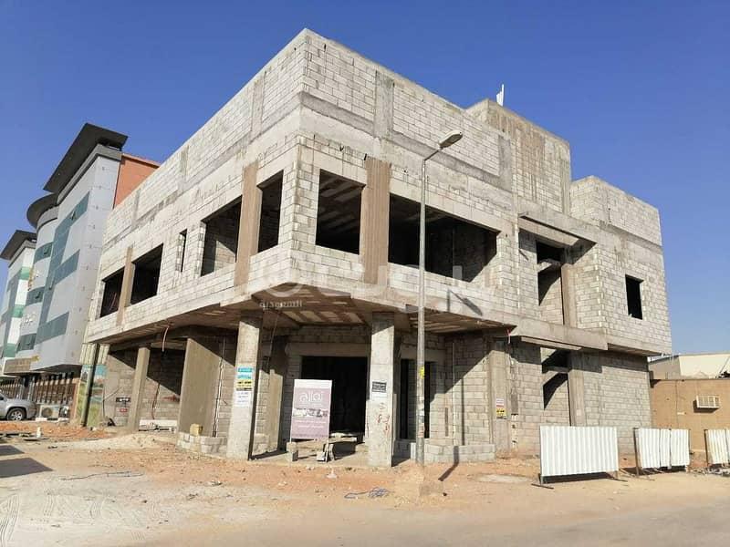 عمارة تجارية دورين وملحق للإيجار في القدس، شرق الرياض