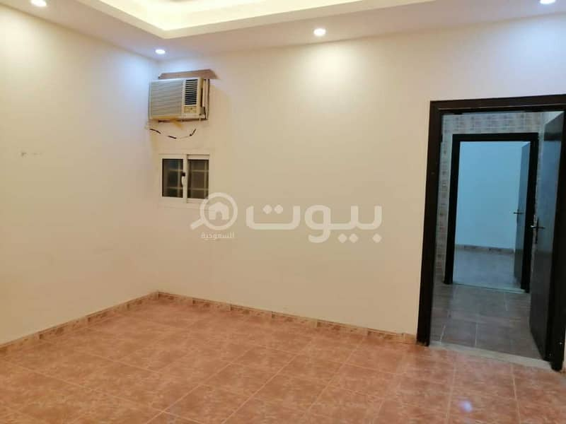 A single apartment for rent in Al Maizilah, east of Riyadh