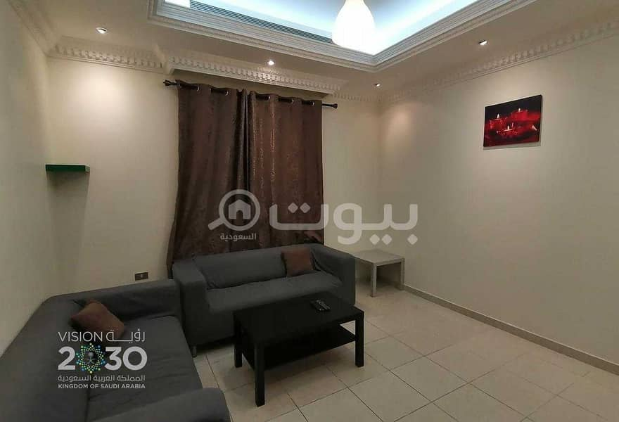 Apartment | 2 BR fully furnished for rent in Al Rawdah, North Jeddah