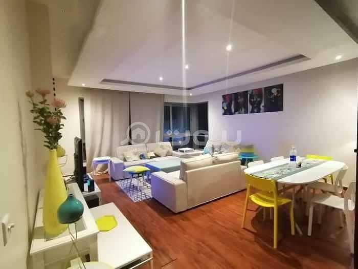 Furnished apartments for rent in Al Fayhaa district, north of Jeddah