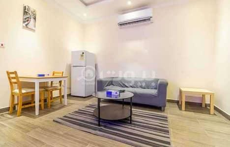 1 Bedroom Flat for Rent in Jeddah, Western Region - furnished apartment   1 BDR for rent in Al Hamraa, Center of Jeddah
