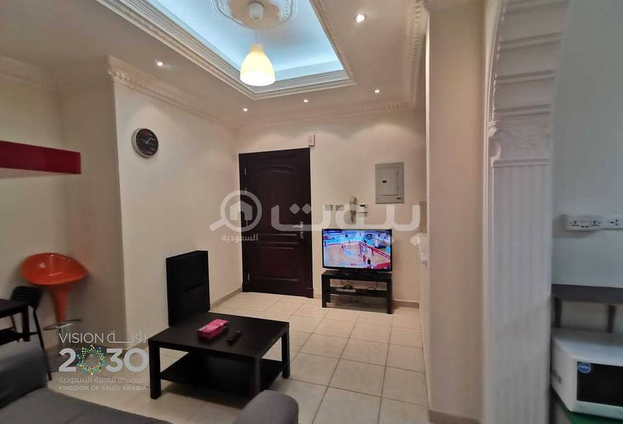 A fully furnished apartment for rent in Al Rawdah, North Jeddah