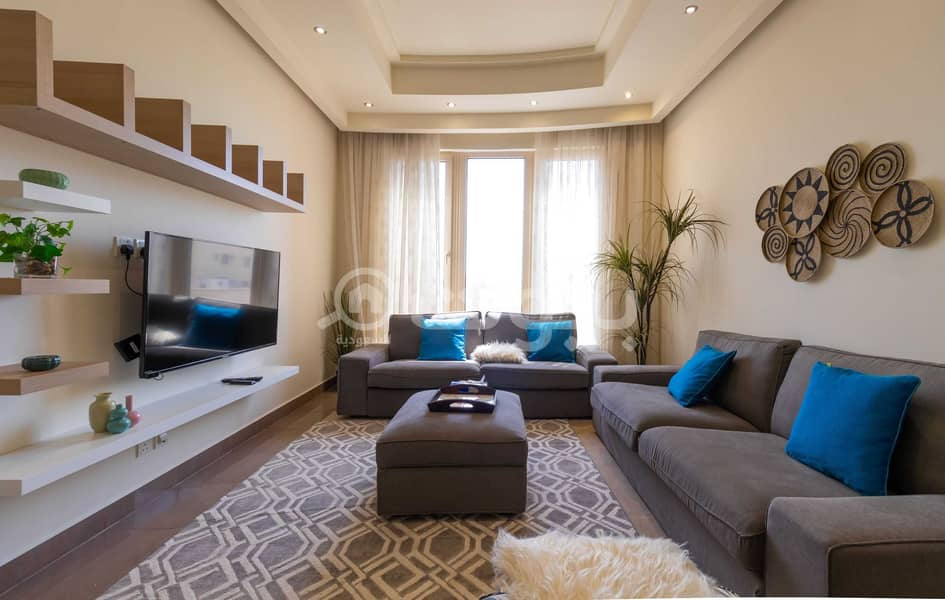 A luxurious apartment in a residential complex for rent in Al Rawdah, North Jeddah