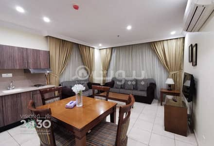 فلیٹ 3 غرف نوم للايجار في جدة، المنطقة الغربية - شقة مفروشة بالكامل للإيجار في البوادي، شمال جدة