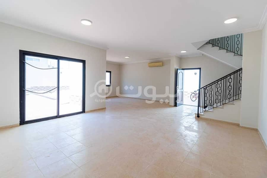 Villa with a pool for rent in Al Masharef complex in Asfan, North of Jeddah