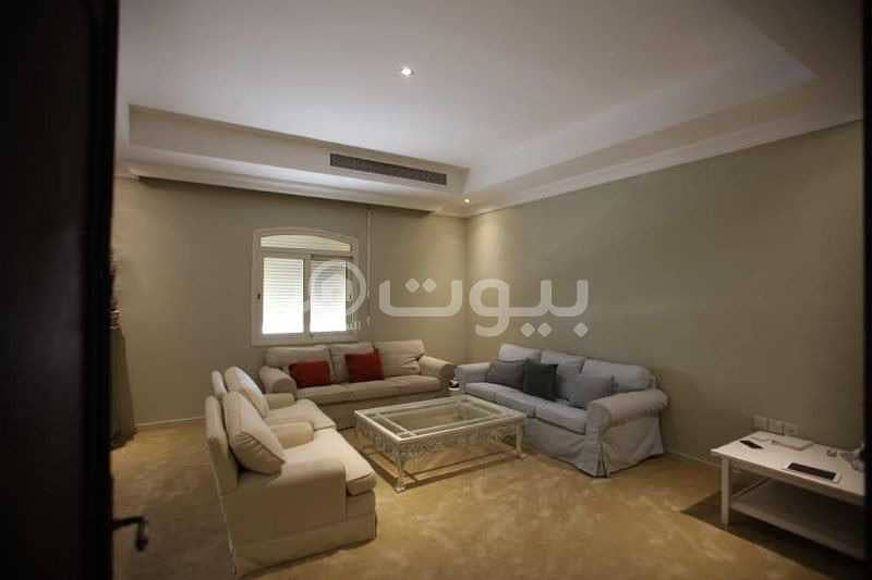 furnished Villa with stairs in the hall for rent in Al Khalidiyah, North of Jeddah