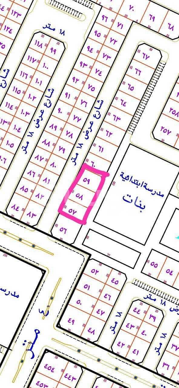 For sale a plot of land in the Al Shifa neighborhood, Hafar Al-Batin