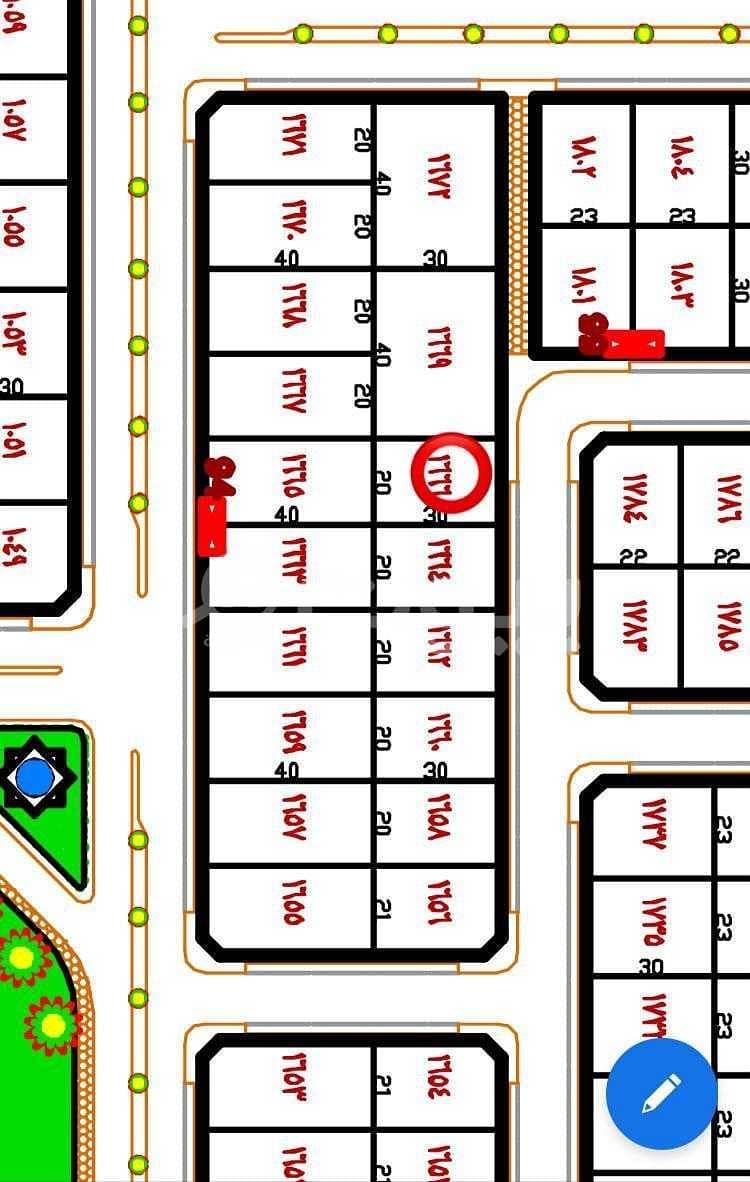 For sale two residential lands in Hafar Al Batin