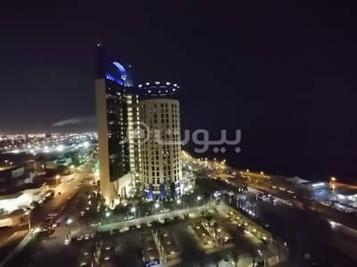 1 Bedroom Flat for Rent in Jeddah, Western Region - furnished studio VIP apartment for rent in Al Shati, North Jeddah
