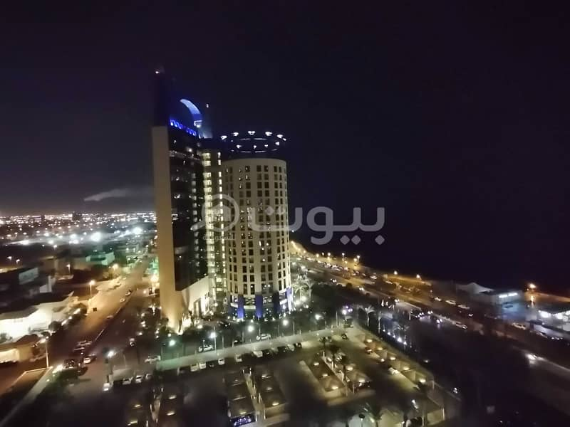 furnished studio VIP apartment for rent in Al Shati, North Jeddah