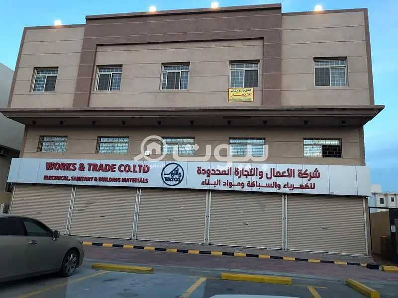 Commercial residential building for sale in Al Shorouq district in Dammam
