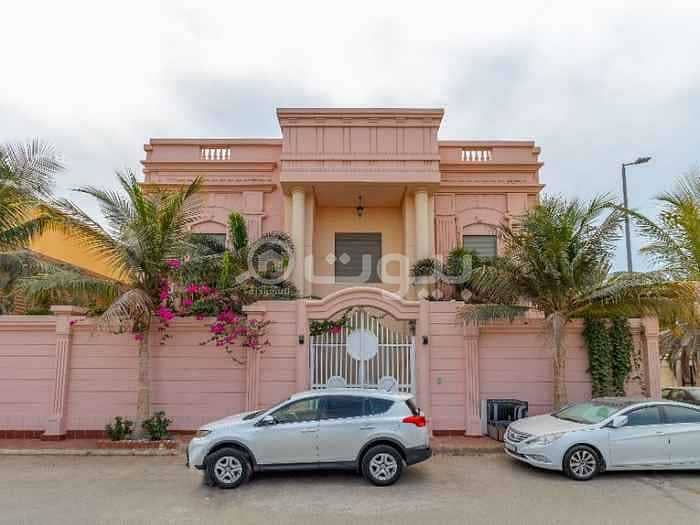 Luxuriously furnished villa for rent in Al Shati, North Jeddah