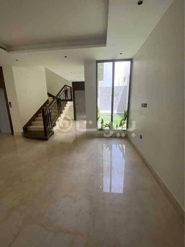 For sale a luxury villa in Al Yasmin neighborhood, north of Riyadh
