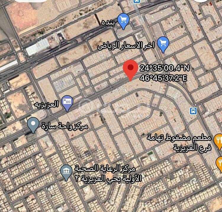 للبيع أرض تجارية في العزيزية، جنوب الرياض