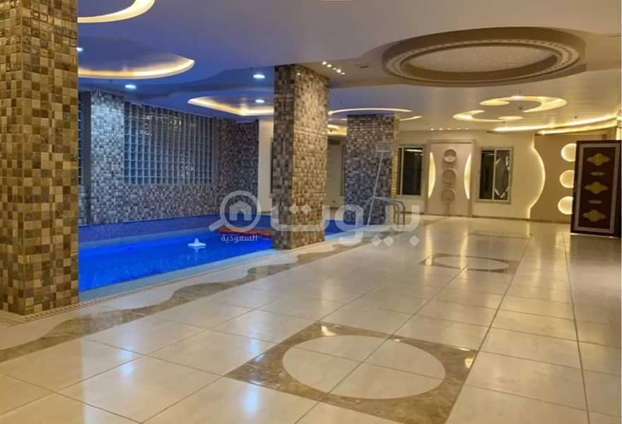 عمارة تجارية مع مسبح للبيع في النسيم، مكة المكرمة   4 أدوار و ملحق