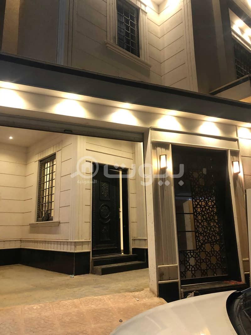 Luxury villa for rent in Al Rimal, east of Riyadh