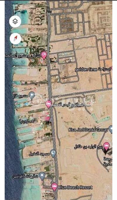 ارض سكنية  للبيع في جدة، المنطقة الغربية - بلوك سكني للبيع بالأمواج جنوب مخطط اليمامة، شمال جدة