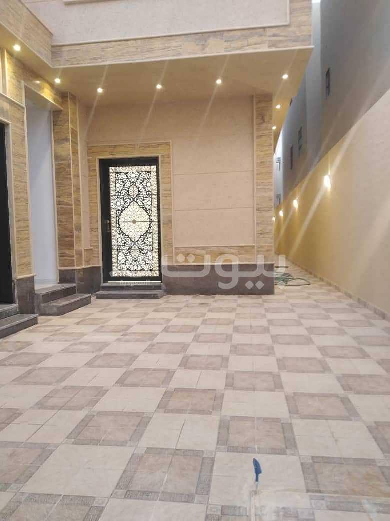 An internal staircase villa for rent in Al Rimal, east of Riyadh