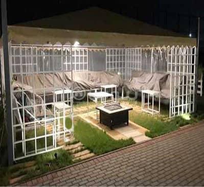 استراحة 4 غرف نوم للبيع في المدينة المنورة، منطقة المدينة - إستراحة مع مسبح للبيع في الغابة، المدينة