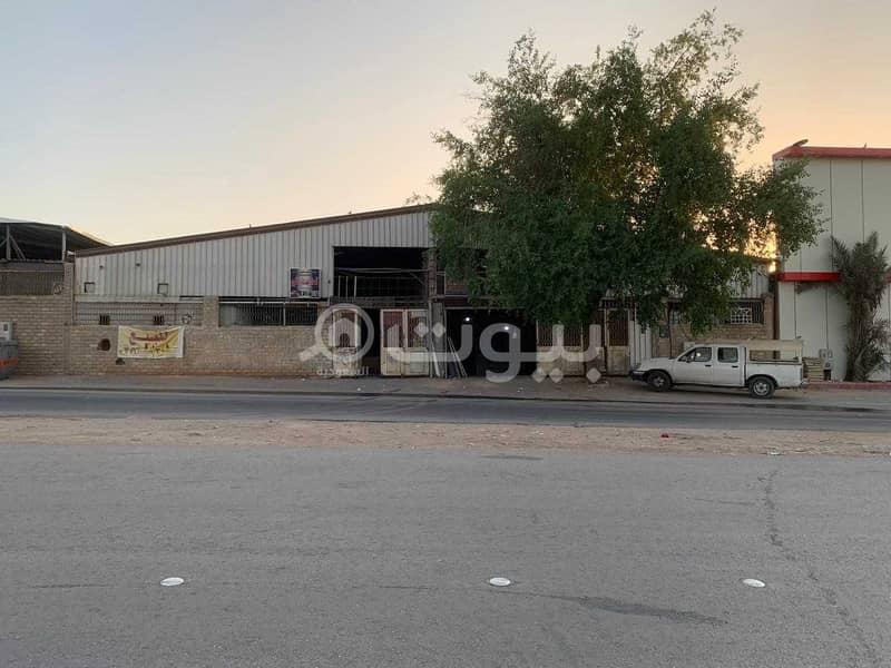 ورشة للبيع في صناعية بدر في بدر، جنوب الرياض