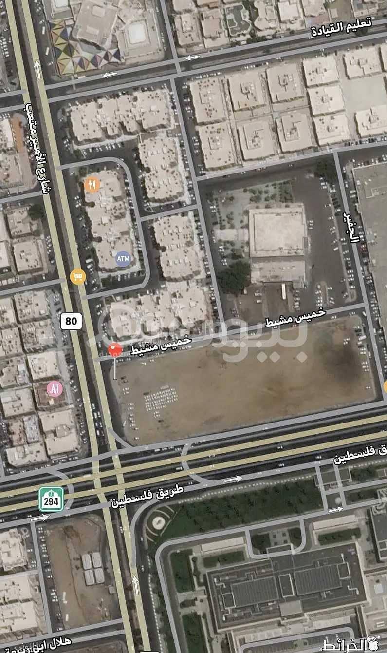 أرض تجارية للبيع في الرحاب، شمال جدة