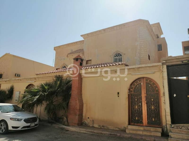 دور مع السطح للإيجار في الحزم، غرب الرياض