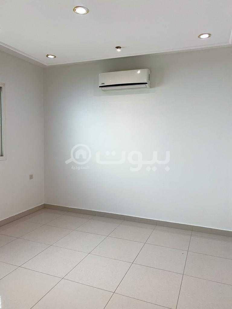 Spacious Two floors apartment in a villa for rent in Al Yasmin, North Riyadh
