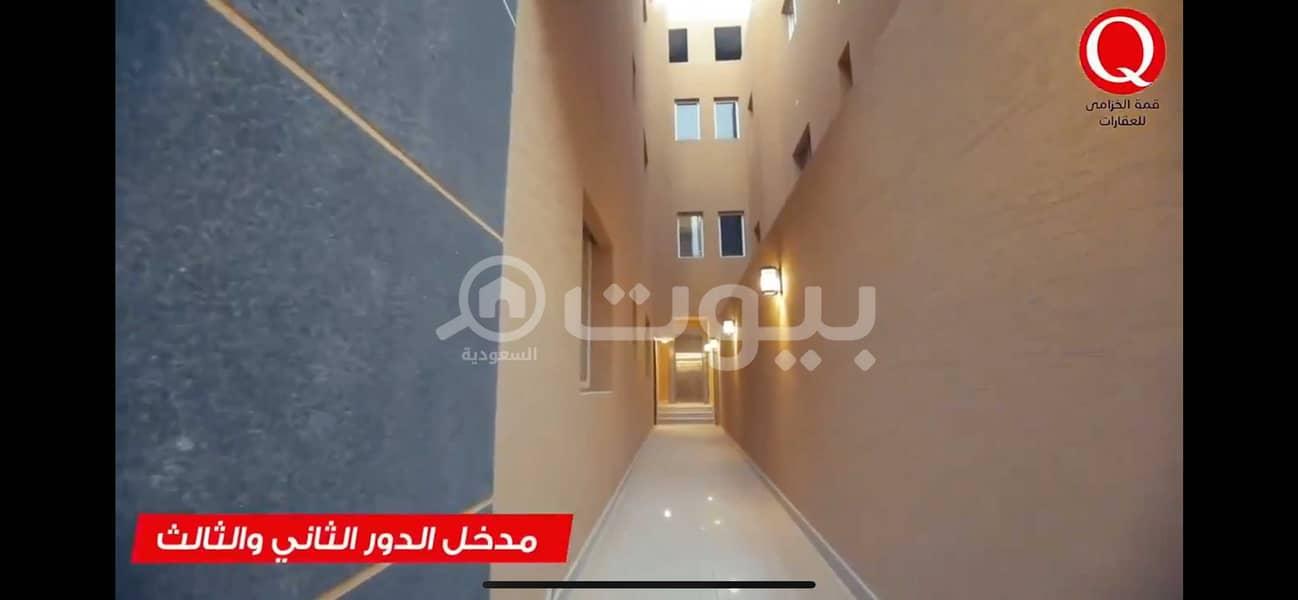 أدوار ملكية للإيجار في النرجس، شمال الرياض