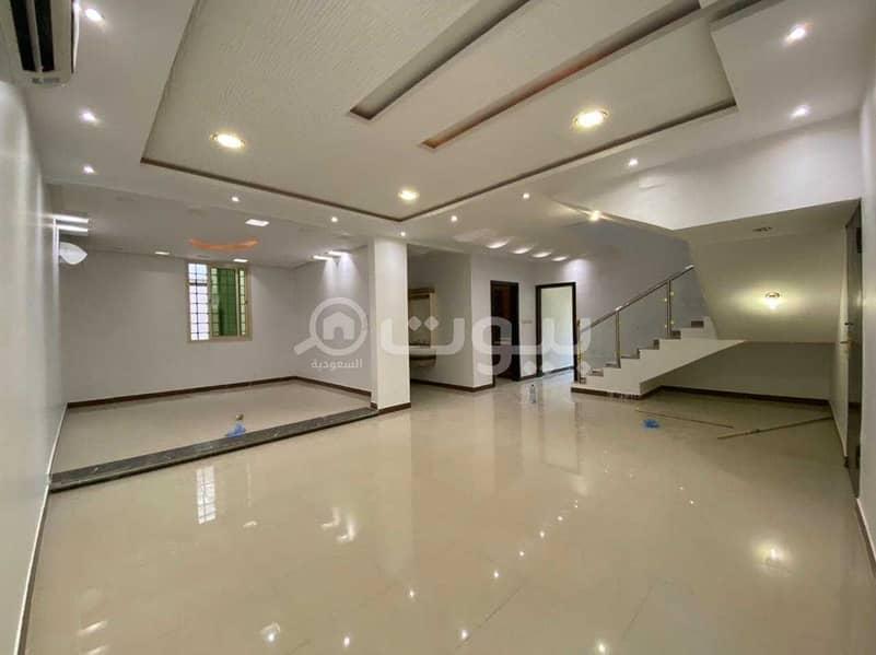 Villa for sale with internal stairs in Al Munsiyah, east of Riyadh
