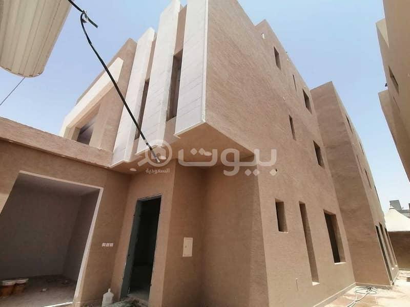 Villa with an apartment for sale in Al Munsiyah, East of Riyadh