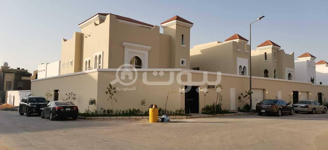 Corner Villas For sale in Al Yasmin, North of Riyadh