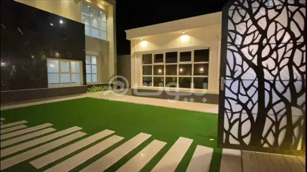 For sale Villa with a park and Pool in Al Rawda, north of Buraydah