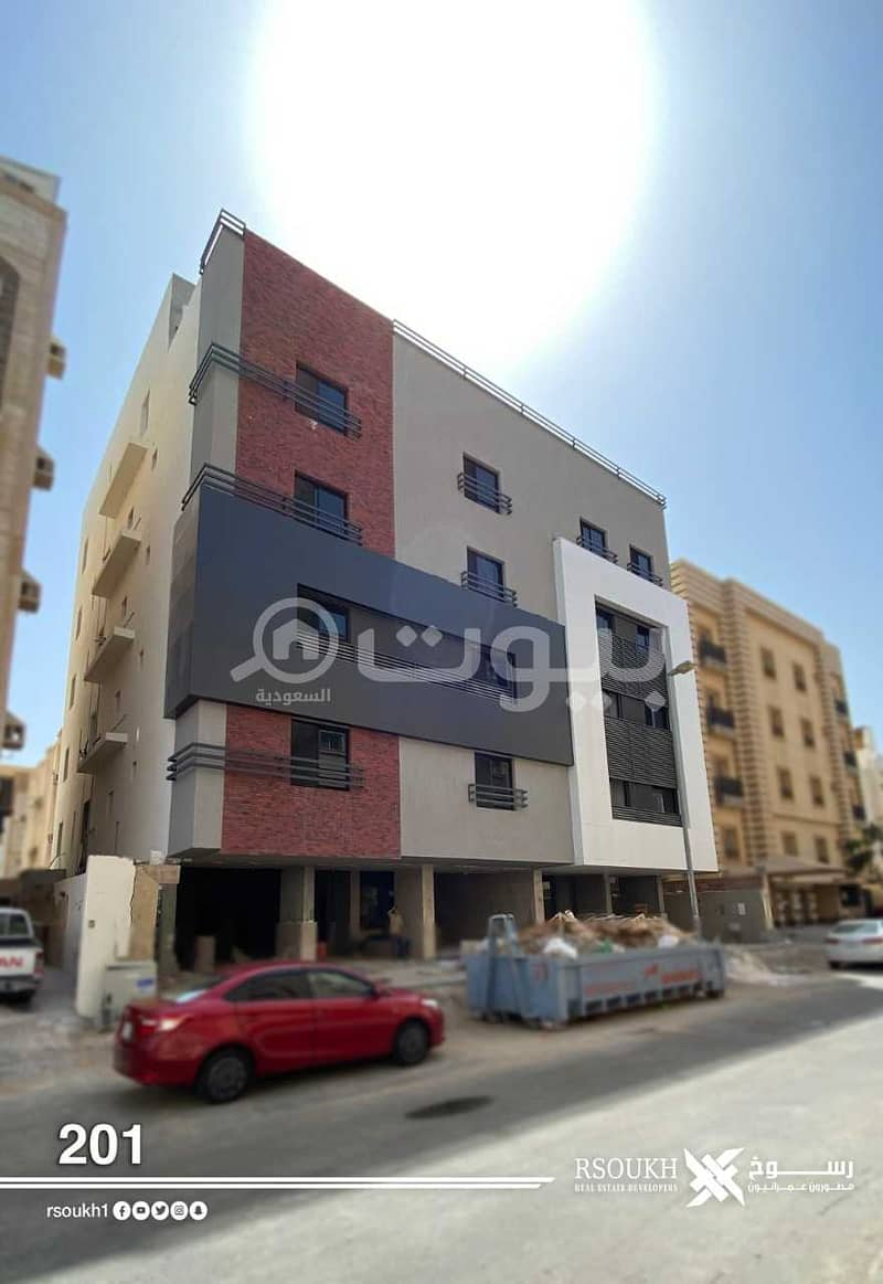 Apartment for sale in Rosokh project 201 in Al-Salamah district, north of Jeddah