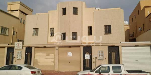 فلیٹ 2 غرفة نوم للايجار في بريدة، منطقة القصيم - للإيجار شقة وملحق بالسطح بحي الإسكان 5، بريدة