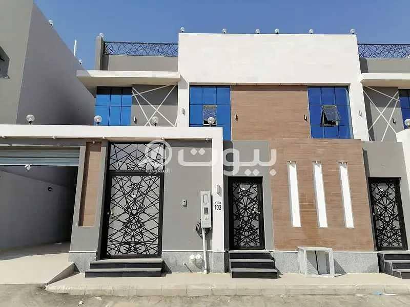 Luxury villas for sale in Al Rahmanyah, north of Jeddah