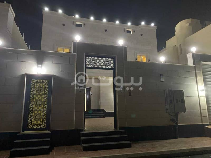 Villa | Apartment system for sale in Taiba District, North of Riyadh