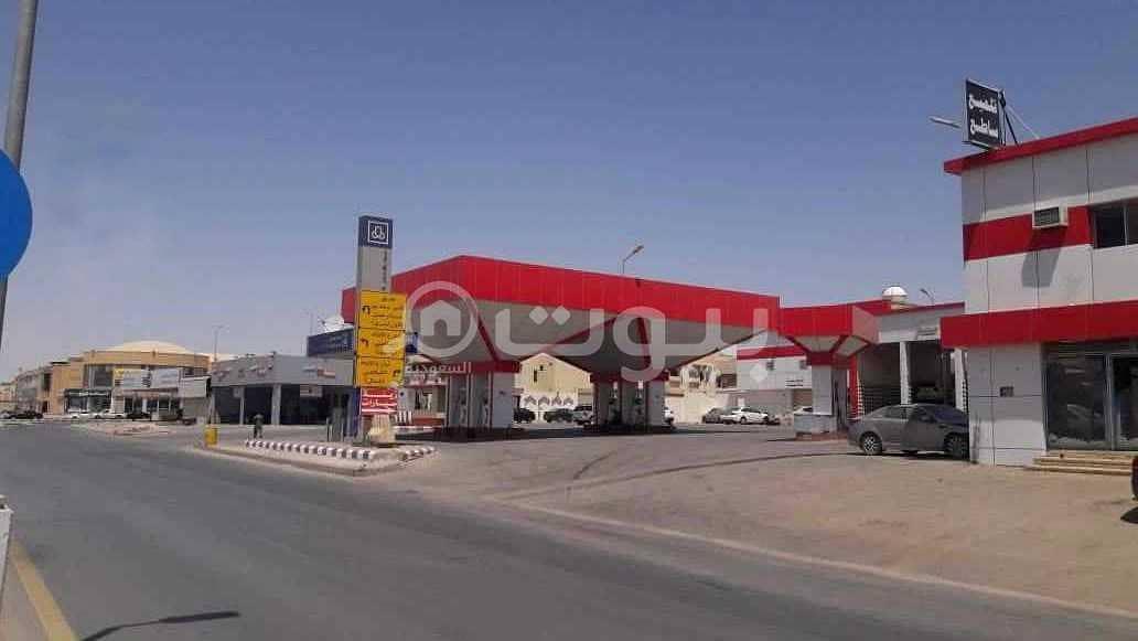 محطة للبيع في طريق الأمير سعد بن عبدالرحمن الأول بالسلام، شرق الرياض
