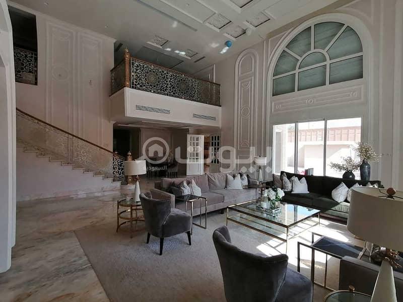 قصر مع سطح للبيع في الجزيرة، شرق الرياض