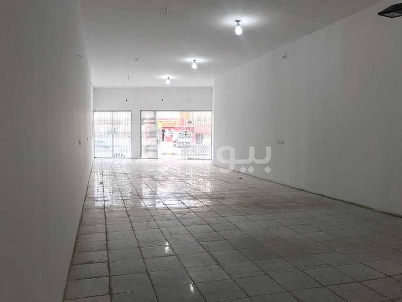 Shop | 150 SQM for rent in Al Nasiriyah, West of Riyadh