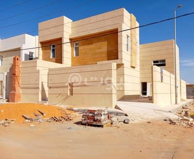 6 Bedroom Villa for Sale in Hail, Hail Region - Corner Modern villa with park for sale in Al Wadi east of Al Sharyan, Hail