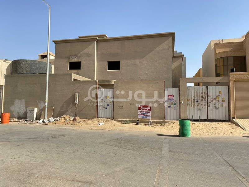 Villa Under Construction for sale in Sultanah district, Buraydah