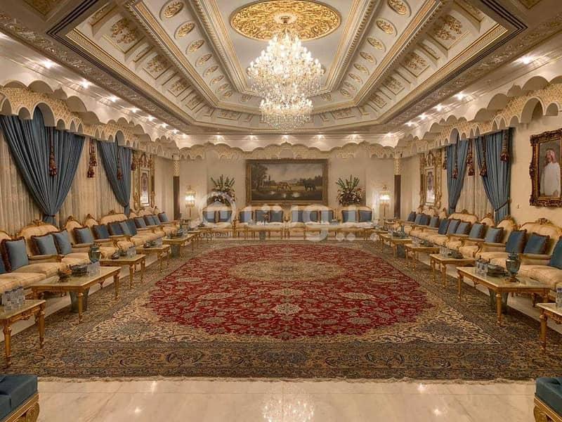 قصر فخم للبيع في حطين، شمال الرياض