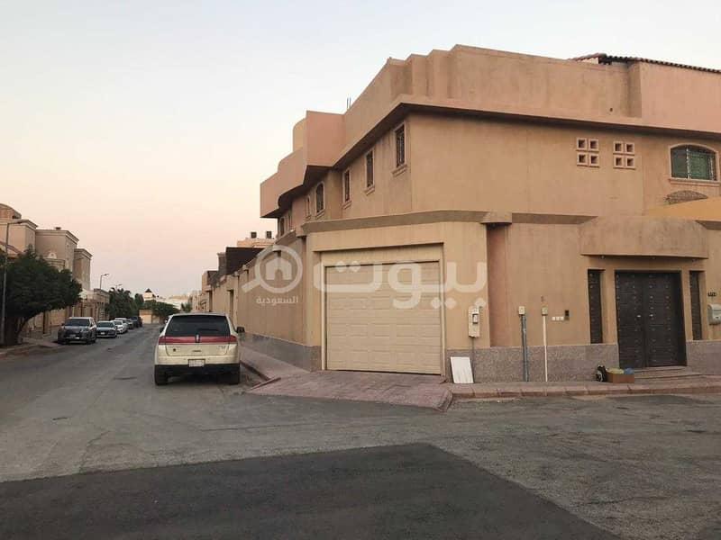 قصر صغير زاوية للبيع بحي الربوة، وسط الرياض