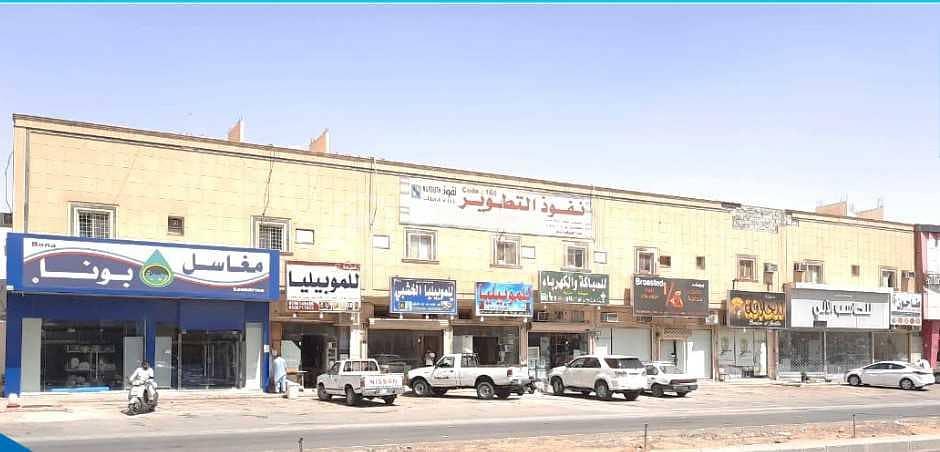 مبنى مساحة 2400م2 للإيجار في المونسية، شرق الرياض