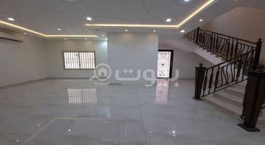 فیلا 8 غرف نوم للايجار في الرياض، منطقة الرياض - فيلا مع كراج للإيجار بحي الملقا، شمال الرياض
