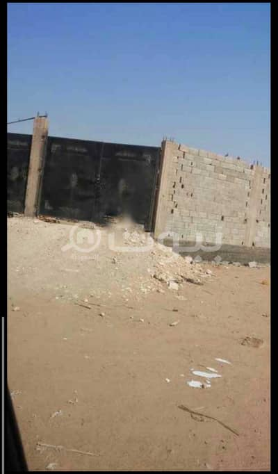 Residential Land for Sale in Jeddah, Western Region - Fenced land for sale in Al Sheraa, North of Jeddah