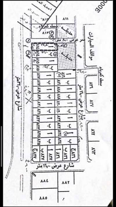 Residential Land for Sale in Jeddah, Western Region - Residential Land   432 SQM for sale in Obhur Al Shamaliyah, North of Jeddah