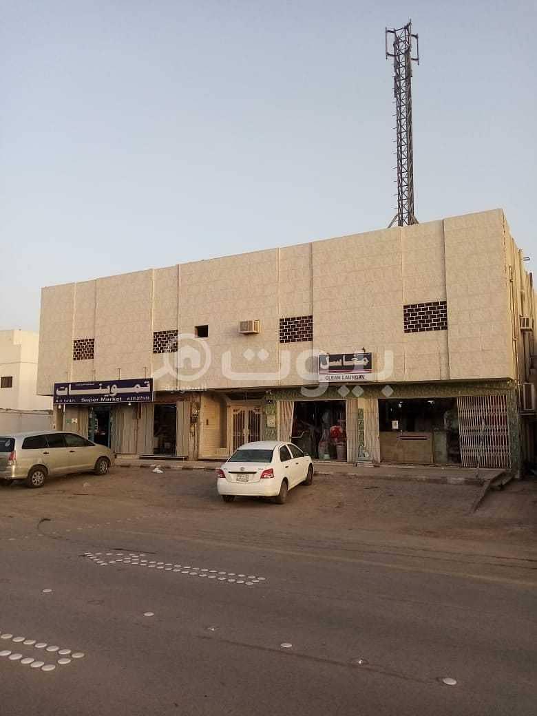 عمارة سكنية للايجار المرسلات، شمال الرياض