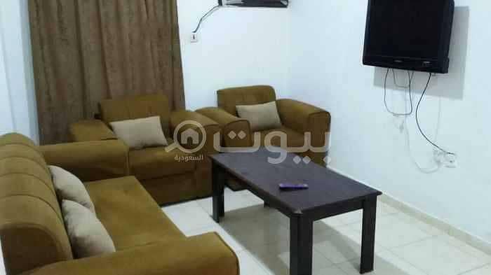 Furnished apartment for rent in Al-Abbas Bin Abdul Al Muttalib St. in Al Sharafeyah, north of Jeddah